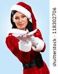 Santa Girl Presenting Your...