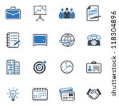 office and business icons  ... | Shutterstock .eps vector #118304896