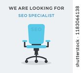 we are hiring vector concept... | Shutterstock .eps vector #1183066138