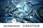 social infrastructure and... | Shutterstock . vector #1183137628