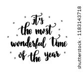 it's the most wonderful time of ...   Shutterstock .eps vector #1183143718