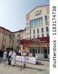 lutsk  volyn   ukraine  ... | Shutterstock . vector #1183174738