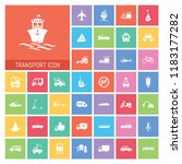 transport icon set. very useful ...   Shutterstock .eps vector #1183177282