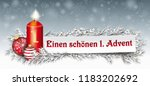 german text einen schoenen 1... | Shutterstock .eps vector #1183202692