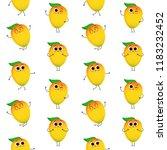 mango  vector seamless pattern... | Shutterstock .eps vector #1183232452