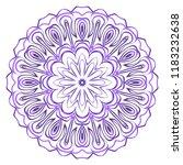 mandala. for design  greeting...   Shutterstock .eps vector #1183232638
