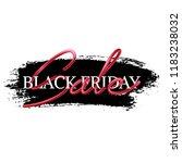 black friday sale advertisement ...   Shutterstock .eps vector #1183238032