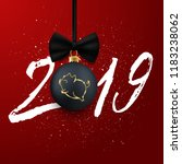 new 2019 chinese year of the...   Shutterstock .eps vector #1183238062