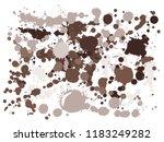 graffiti spray stains grunge... | Shutterstock .eps vector #1183249282