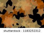 multicolored translucent stars... | Shutterstock . vector #1183252312