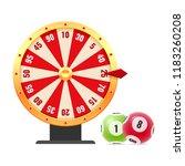 lottery  bingo  lotto  random... | Shutterstock .eps vector #1183260208