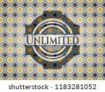 unlimited arabic emblem... | Shutterstock .eps vector #1183281052
