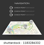 location icon map. road... | Shutterstock .eps vector #1183286332