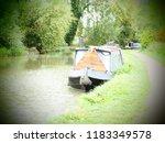 grand union canal man made... | Shutterstock . vector #1183349578