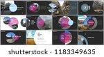 minimal presentations design ... | Shutterstock .eps vector #1183349635