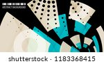 abstract colorful background... | Shutterstock .eps vector #1183368415