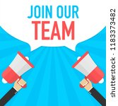 Join Our Team. Badge With...