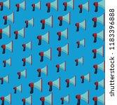 bullhorn pattern background | Shutterstock .eps vector #1183396888