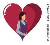 woman avatar faceless   Shutterstock .eps vector #1183399525