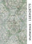 baroque damask ornament pattern ...   Shutterstock .eps vector #1183428775
