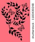 ornate pattern background vector | Shutterstock .eps vector #1183430248