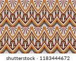geometric folklore ornament.... | Shutterstock .eps vector #1183444672