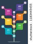 development tree. education ... | Shutterstock .eps vector #1183445455