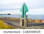reykjavik  iceland   october 12 ...   Shutterstock . vector #1183448425