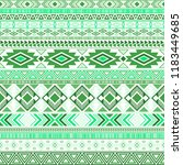 mayan american indian pattern... | Shutterstock .eps vector #1183449685