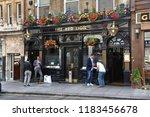 london  uk   july 7  2016 ... | Shutterstock . vector #1183456678