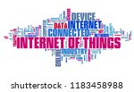 internet of things  iot   ... | Shutterstock . vector #1183458988