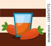 vegetables fresh natural | Shutterstock .eps vector #1183470772