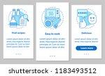 food cooking onboarding mobile...   Shutterstock .eps vector #1183493512