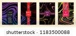modern marble cover design for... | Shutterstock .eps vector #1183500088