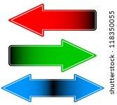 arrows. gradient | Shutterstock . vector #118350055