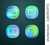 approve app icons set....