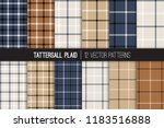 navy  brown  gray beige  white... | Shutterstock .eps vector #1183516888