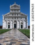 pisa. italy. 09.02.16. duomo di ... | Shutterstock . vector #1183539655