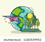 travel and vacations | Shutterstock .eps vector #1183539952