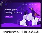 business website template... | Shutterstock .eps vector #1183556968