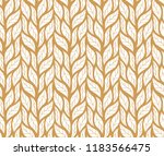 decorative leaves seamless... | Shutterstock .eps vector #1183566475