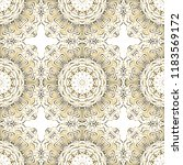 seamless lace floral background.... | Shutterstock .eps vector #1183569172