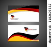 germany flag concept background ... | Shutterstock .eps vector #1183605832