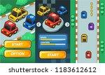 2d game asset pack race car ... | Shutterstock .eps vector #1183612612