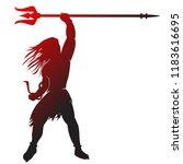 mahadev vector awesome desing... | Shutterstock .eps vector #1183616695