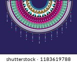 vector design for collar shirts.... | Shutterstock .eps vector #1183619788