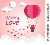 illustration of love and...   Shutterstock .eps vector #1183634695