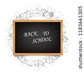 school board on the background... | Shutterstock .eps vector #1183661305