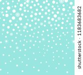 falling snow background. vector ... | Shutterstock .eps vector #1183683682