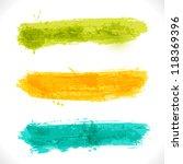 vector grunge banners.... | Shutterstock .eps vector #118369396